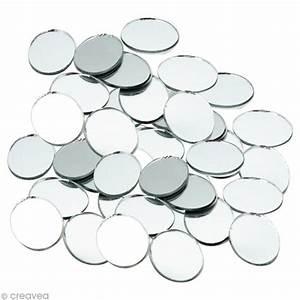 Petit Miroir Rond : mosa que miroir rond 20 mm 60 tesselles en verre tesselle mosa que creavea ~ Teatrodelosmanantiales.com Idées de Décoration