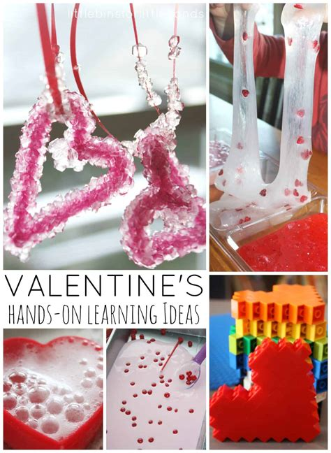 valentines day learning activities  science experiments