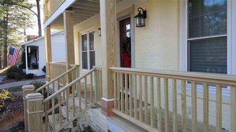 wood porch railing wood porch railing balusters