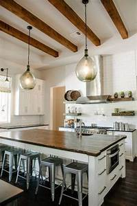 Kitchen Designs With Wooden Beams ComfyDwelling com