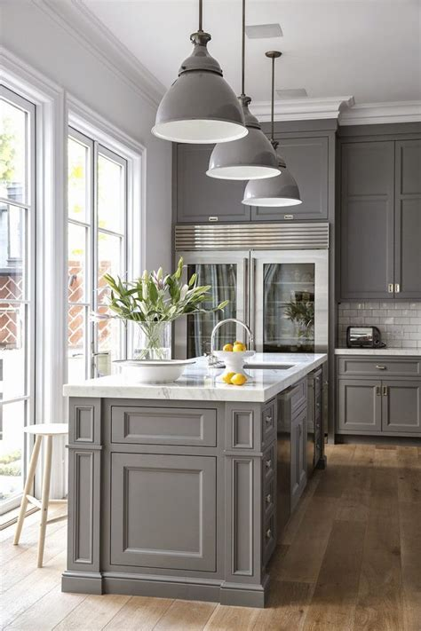 Ideas For Small Galley Kitchens - 7 interior decor trends for 2018 that will make you go wow pinterest grey kitchen cabinets