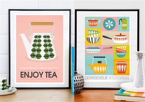affiche cuisine retro les affiches rétro de handz joli place