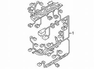 Volkswagen Jetta Engine Wiring Harness  1 4 Liter  W  O