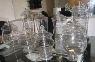 bathroom apothecary jar ideas inspiration buffets celebrate decorate