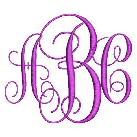 brother embroidery fonts  vine monogram fonts  letter alphabet machine embroidery