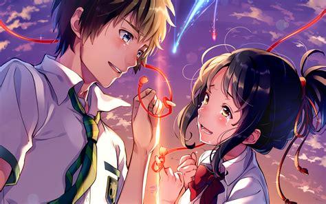 Makoto Shinkai Wallpaper Hd Kimi No Na Wa Your Name Wallpaper Hd Free Download