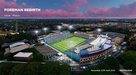 design firm sought  foreman field renovation project