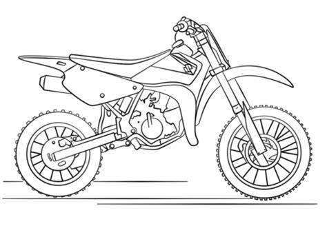 moto de trial de suzuki dibujo para colorear motos suzuki dirt bikes bike drawing y dirt