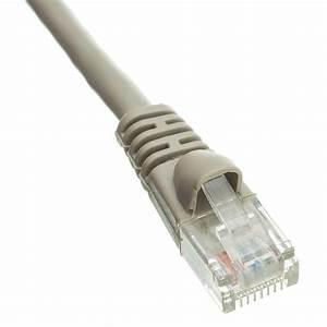 Cat 5 Cat 6 : snagless 1 5 foot cat5e gray ethernet patch cable ~ Eleganceandgraceweddings.com Haus und Dekorationen