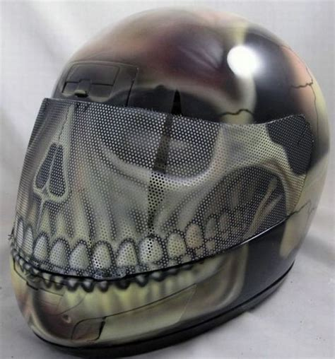 cool  creative motorcycle helmet designs