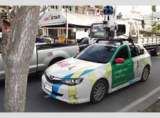 Look out! It's the Google Street View car