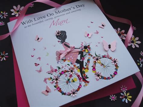 personalised mothers day cards mothers day cardspink