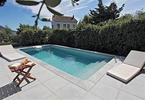 piscine rectangulaire de 6 x 3 m desjoyaux jardin With wonderful idee amenagement jardin avec piscine 3 reportage photo piscine carre aubagne