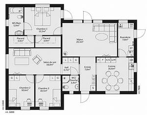 unique plan maison moderne 5 chambres ravizhcom With plan maison marocaine moderne