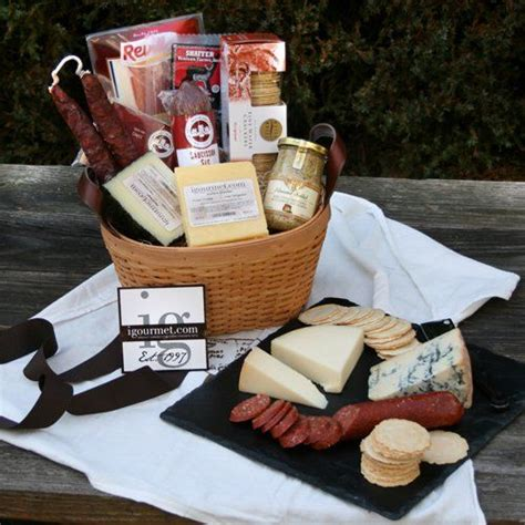 meat and cheese gift basket best 25 cheese gift baskets ideas on food
