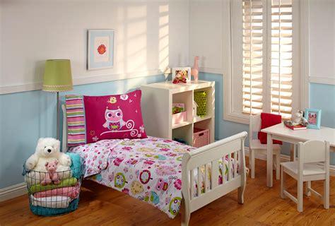 amazoncom  kids toddler bedding set hoot