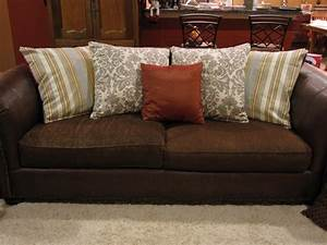 large sofa pillows back cushions catosferanet With big accent pillows