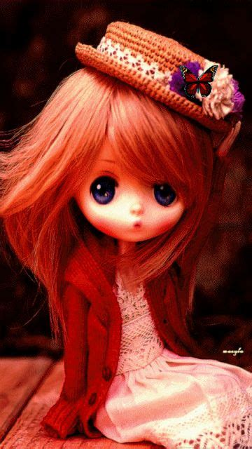 Animated Dolls Wallpapers - animated blythe doll girly animated doll
