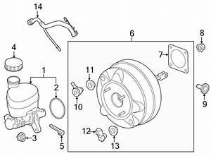 Ford Mustang Brake Vacuum Hose  2 3 Liter  Tube