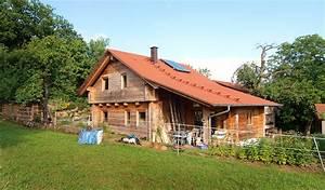Gartenhaus Mit überdachter Terrasse : haus mit kniestock und ueberdachter terrasse duffner blockbau ~ One.caynefoto.club Haus und Dekorationen