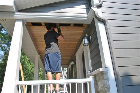 Cedar Porch Ceiling by How To Build A Cedar Porch Ceiling The Sweetest Digs