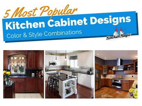 50 Best Most Popular Kitchen Cabinet Color