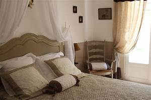 Rideaux Style Romantique : inspiration chambre adulte campagne ~ Melissatoandfro.com Idées de Décoration