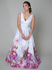 15 head over heels gorgeous floral wedding dresses With flower dress for wedding