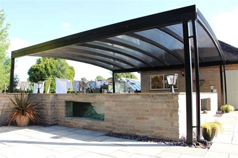 Koi Pond Canopy Installed In Derbyshire  Kappion Carports