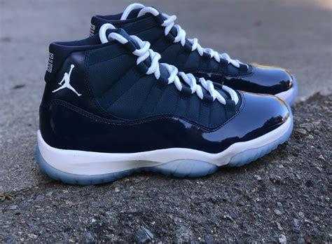 Nike Air Jordan Retro 11 Dead Stock Custom Midnight Navy
