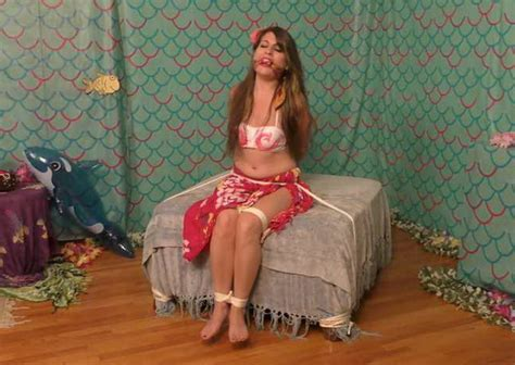 Bedroombondage Party Girl Indica James Left Hogtied For