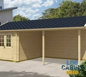 Carport 3 X 4 : carport arthur 21m 3 5 x 7 m 70mm log cabins 4 less ~ Whattoseeinmadrid.com Haus und Dekorationen