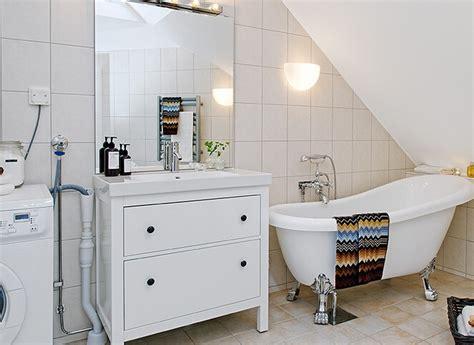 blue and green bathroom ideas scandinavian style loft bathroom