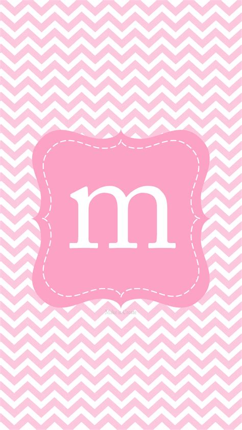 itcreate printables backgroundswallpapers iphone  chevron initial