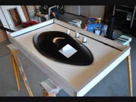 concrete sinkcountertop molds youtube