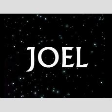 The Book Of Joel Chapter 3 Youtube