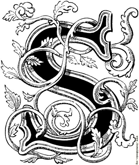 floriated initial capital letter