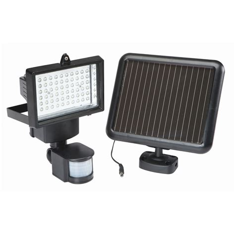 motion light battery powered 60 led solar security light