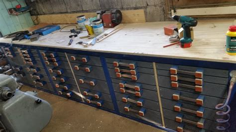 extreme homemade workbench   drawers youtube