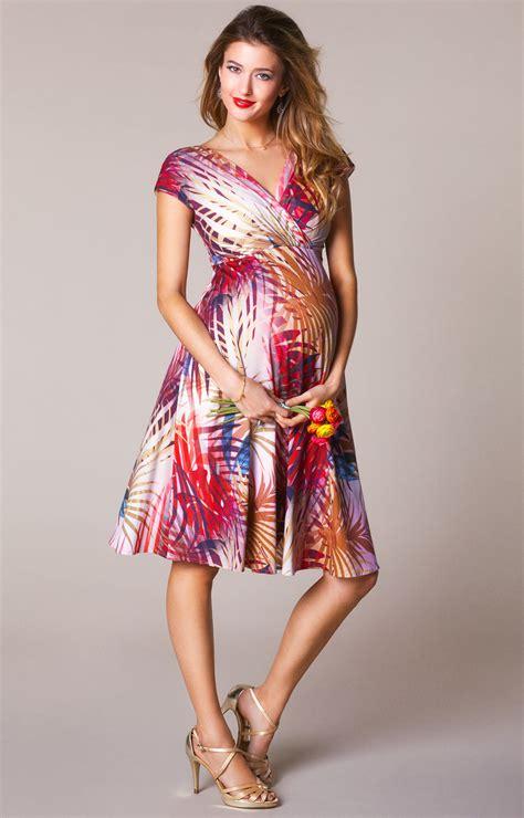 alessandra maternity dress short hot tropics maternity