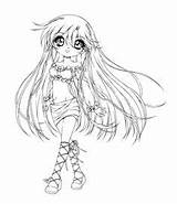 Coloring Tomboy Pages Anime Colouring Sureya Venus Goth Digital Deviantart Gothic Stamps Prints sketch template