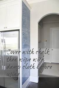 best 25 kitchen chalkboard walls ideas on pinterest With kitchen colors with white cabinets with penny board logo sticker