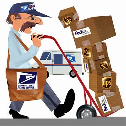 Mail Postal Packages Delivery Office Clipart Fedex