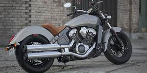 2017 Indian Scout Motorcycle - Thunder Black
