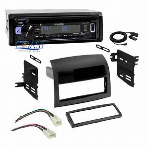 Kenwood Car Stereo Aux Bluetooth Dash Kit Harness For 2004
