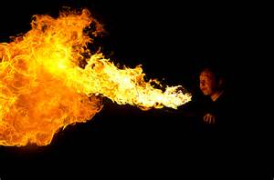 Image result for fire breathing