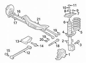 Chevrolet Impala Crossmember  Susp Crossmember  Suspension Subframe Crossmember  Suspension
