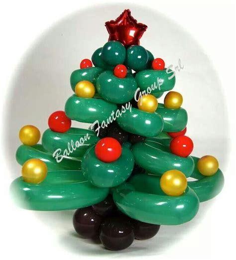 christmas tree twist balloon twist  pinterest