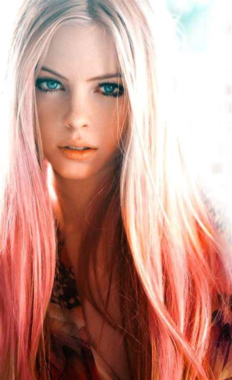 74 Best Dip Dye Hair Images On Pinterest Colourful Hair