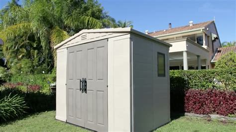 Keter Storage Shed 8x6 by Keter Factor 8x6 Assembly